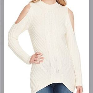 Jessica Simpson Posy cold shoulder sweater